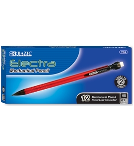 BAZIC Electra 0.7 mm Mechanical Pencil (12/Box)