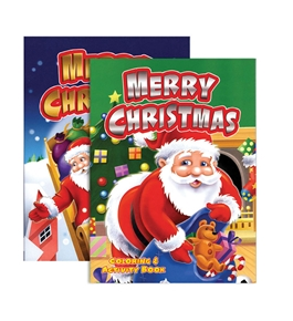 CHRISTMAS Coloring & Activity Book