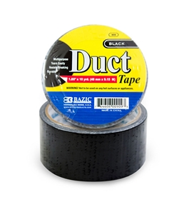 BAZIC 1.88 X 10 Yards Black Duct Tape