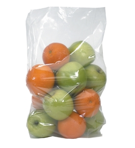 "8"" x 4"" x 18"" - 4 Mil Gusseted Poly Bags - PB1801"