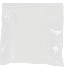 "5"" x 8"" - 2 Mil White Reclosable Poly Bags - PB3585W"