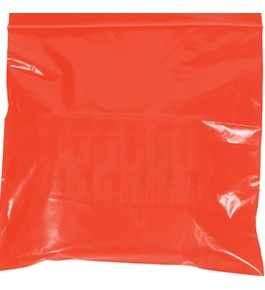 "9"" x 12"" - 2 Mil Red Reclosable Poly Bags - PB3645R"