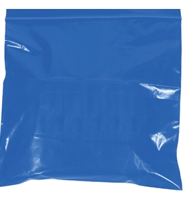 "10"" x 12"" - 2 Mil Blue Reclosable Poly Bags - PB3655BL"