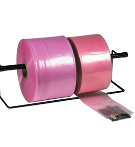"15"" x 1075' - 4 Mil Anti-Static Poly Tubing - PTAS1504"