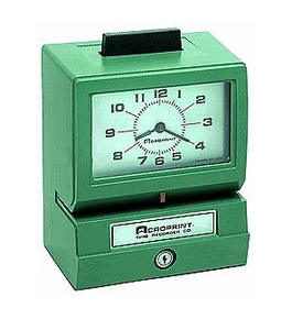 Acroprint BP125-R6 Battery Powered Time Recorder