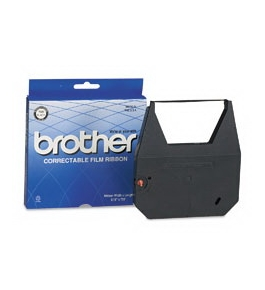 Brother 7020 Correctable Ribbon Black