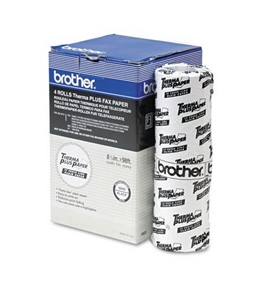 Brother 6840 6840 Thermal Fax Paper for Brother 660/650m/8000m/21000m, 4/pk