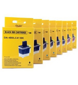 Brother Compatible LC41 8-Pack (2B/2C/2M/2Y) Ink Cartridge Value Pack - Brother MFC 210C,420cn,620cn,3240c,3340cn,5440cn,5840cn,1840c,2440c,1940cn