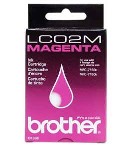 Brother LC02M Ink Jet Cartridge (Magenta)
