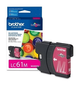 Brother LC61 Magenta Ink Cartridge LC61MS [Electronics]