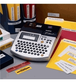 Brother PT-2600 AVERY /TZ Label Maker / Bar Code Creator and PC Label Make ALL IN ONE