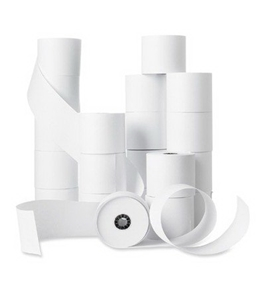 PMC BSN28625 Machine Roll, Single Ply - White