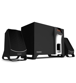 """Boytone 2.1 MULTIMEDIA SPEAKER SYSTEM WITH BLUETOOTH/SD/USBCONNECTIVITY GET SERIOUS SOUNDS WITH 2200W PMPO OUTPUT FOR MUSIC, MOVIES AND GAMES BT-3107F"""