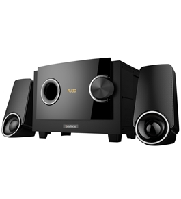 Boytone 2.1 MULTIMEDIA SPEAKER SYSTEM WITH BLUETOOTH/SD/USBCONNECTIVITY GET SERIOUS SOUNDS WITH 2200W PMPO OUTPUT FOR MUSIC, MOVIES AND GAMES BT-3129F
