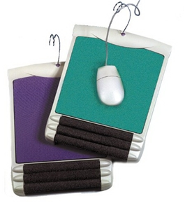 Buddy Products Mouse Pad, Platinum and Jade, 6404-38