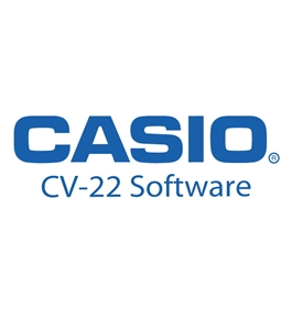 Casio CV-22 Programming/Reporting Software w/ 14' Cable