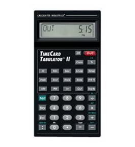 Calculated Industries 9526 Time Card Tabulator II