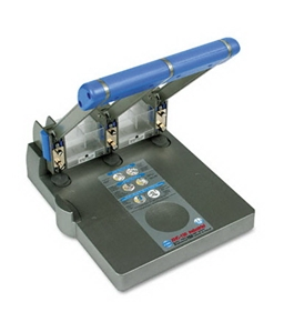 Carl XHC-150 Extra Heavy Duty 3 Hole Punch 150 Sheet Capacity
