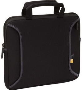 Case Logic LNEO-12 12.1-Inch Neoprene Chromebook/Netbook Sleeve (Black)