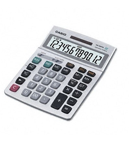 Casio DM-1200TM Desktop Calculator, 12-Digit LCD