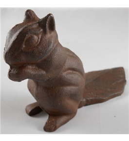 Cast Iron Squirrel Doorwedge