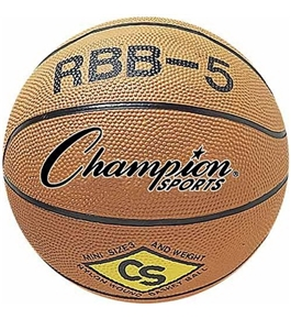 "Champion Mini Basketball; 7"" Diameter; Orange; no. CHSRBB5"