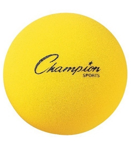 Champion Sports Uncoated Regular Density Foam Ball (8.5-Inch)