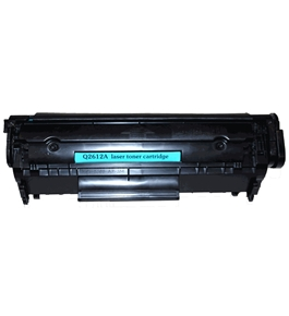 Compatible HP Q2612A Black Toner Cartridge for use in LaserJet Printers 1012 1018 1020 1022 3015 3020 3030