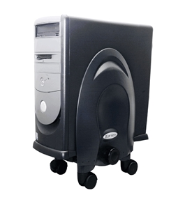 Kantek CS270B Deluxe Stand for CPU - Black