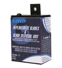 Garvey CUT-40470 Safety Cutter Blades and Disposal Unit