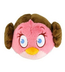 "CWT Angry Birds Star Wars: 5"" Princess Leia Limited Edition Plush Toy"