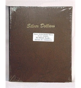 Dansco Silver Dollars Plain with 48 Ports Album #7177