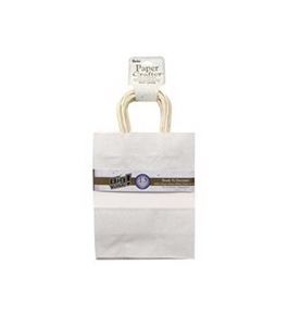 "Darice Paper Crafter Bag 8""x 10.25"" Value Pack White"