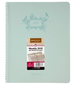Day Runner Poetica Weekly/Monthly Planner, 8 1/2 x 11 Inches, 2012 (772-905)