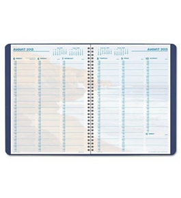 Day-Timer Coastlines Weekly Appointment Wire-Bound Planner, Blue, Folio Size, 8 x 11.875 Inches Pages, January 2013 Start (D32287130101A)