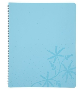 Day-Timer Mom Notebook Planner, Blue Vinyl, 9 x 11.25 Inches, January 2012 Start (D15286110701A)