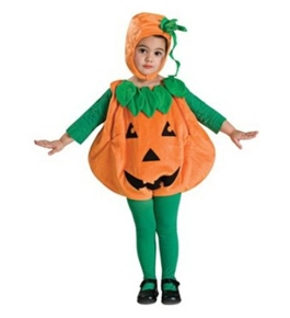Deluxe Costume, Pumpkid, Toddler (US Size: 2-4) by Rubie's Costume Co