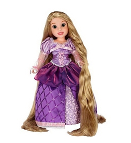 Disney Tangled Rapunzel Doll -- 18''