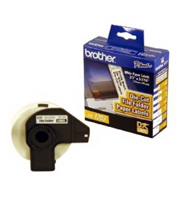 Brother DK1203 File Folder Label Roll