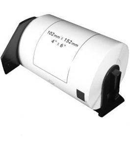 "Brother DK1241 Compatible 4"" x 6"" White Labels"