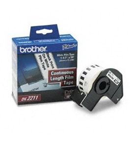 Brother DK2211 Continuous White Film Labels
