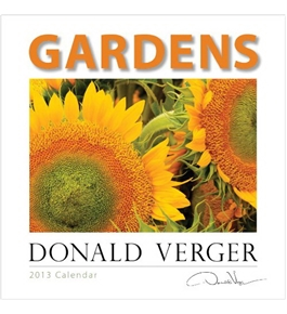 Donald Verger Flower Gardens 2013 Wall Calendar