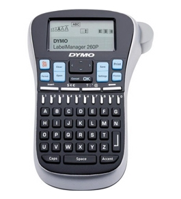 DYMO Label Manager LM260P label Printer, Black /Gray (1754490)