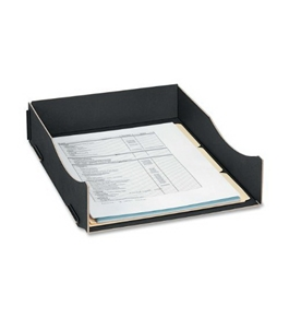 Earth Series Letter Tray - Black