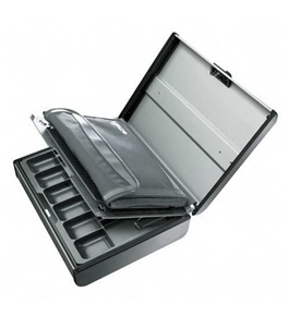 Echelon 217702092 Steel Security Case w/Removable cash tray