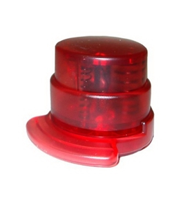 Eco Staple Free Stapler Round, Red