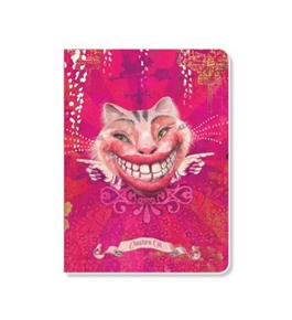 ECOeverywhere Cheshire Cat Sketchbook, 160 Pages, 5.625 x 7.625 Inches (sk12192)