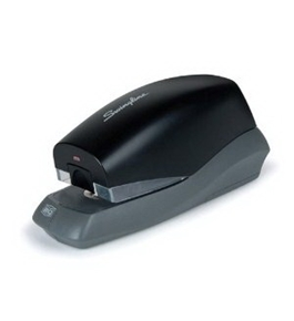 Electric Stapler, 20 Sheet Capacity, 105 Staple Capacity, Black [Electronics]