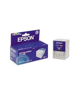 Epson T001011 Ink, 330 Page-Yield, Tri-Color - Cyan/Magenta/Yellow