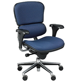 ERGOHUMAN LO LE10ERGLO FABRX PROGRAM CHAIR